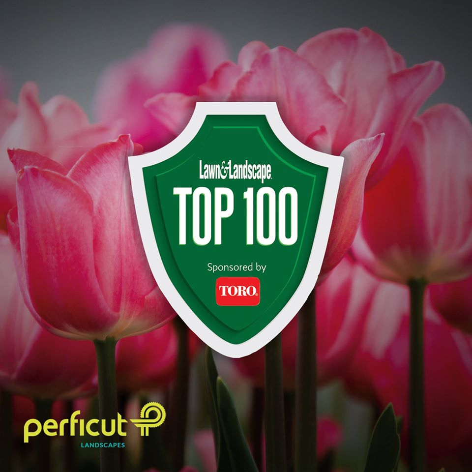 Top 100 Award From Lawn & Landscape