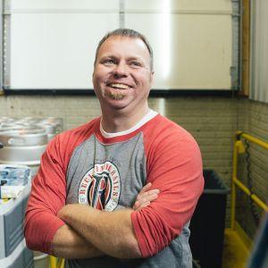 Jeremy Boka at Reclaimed Rails in Bondurant, Iowa